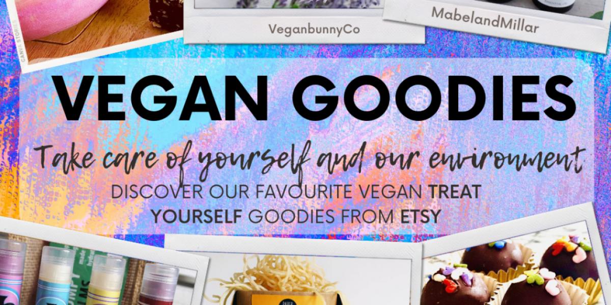Vegan Goodies featuring a range of Etsy sellers