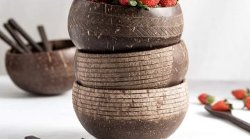 Jungle Culture - sustainable homeware. Coconut bowls